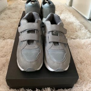 Other - Grey Velcro Sneakers